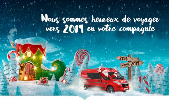 Vanomobil Kerst nieuwsbrief FR